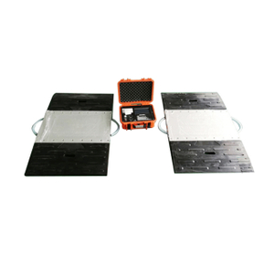Portable Axle Scale Weighing Pad Touch Screen
