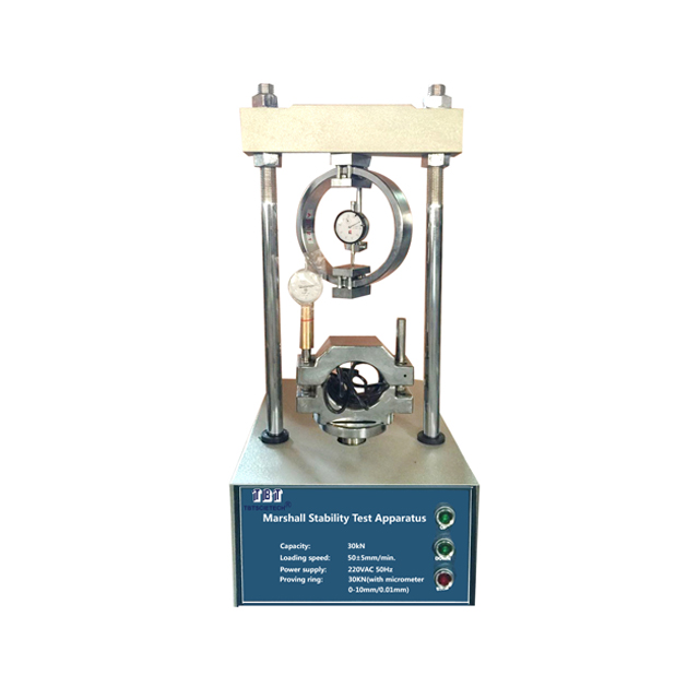 Marshall Stability Test Apparatus with Proving Ring