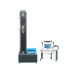 Computer Control Electronic Universal Testing Machine Single Column