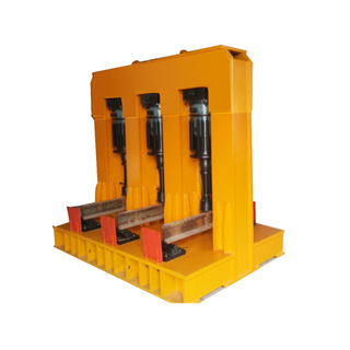 Static And Dynamic Steel Rail Test Machine